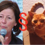 Tote Katze in der Marderfalle in Scharfenbergs Garten und die bange frage: War es Mord? Fotos: Archiv