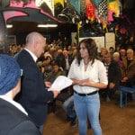 Jugendzentrum Königswiesen. Vor allem Aussiedler sprechen sich gegen die Flüchtlingsunterkunft auf dem dortigen Bolzplatz aus. Foto: Archiv/ as