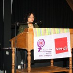 """Irene Salberg: """"Unfassbar, dass geschlechtsspezifische Gewalt nach wie vor kein Asylgrund ist."""""""
