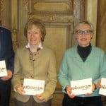 """""""Sensationelle Zusammenarbeit"""": Oberbürgermeister Joachim Wolbergs, Gabriele Anderlik, Birgitt Ehrl und Bürgermeisterin Getrud Maltz-Schwarzfischer. Foto: as"""