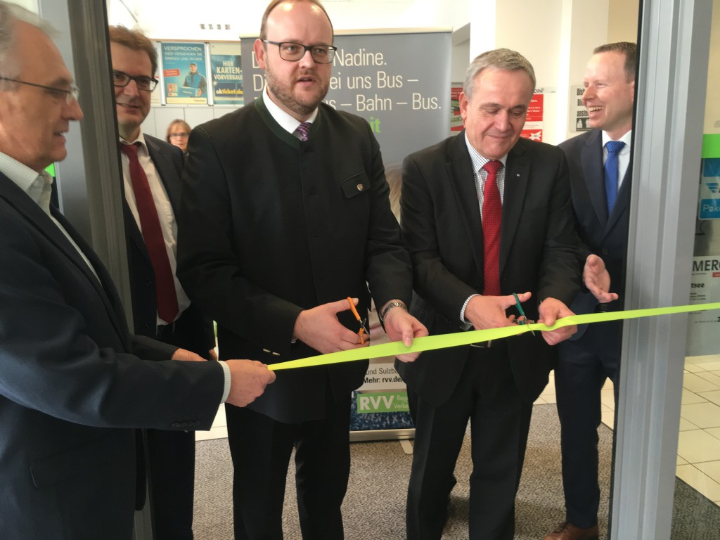 VVK-Eröffnung Reisecenter Weiden
