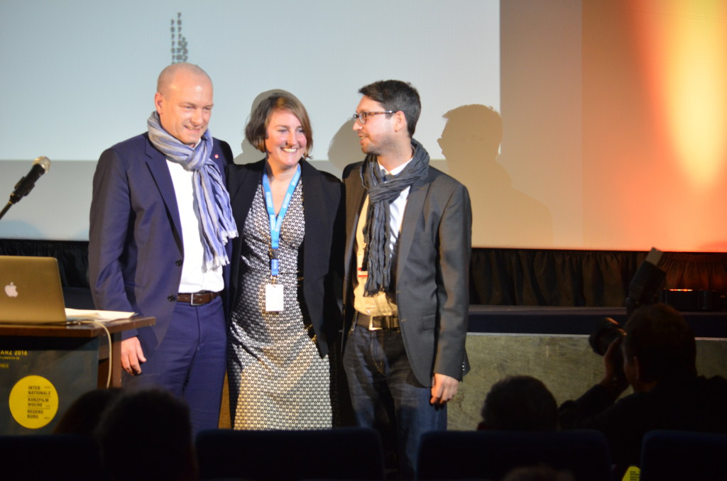 joachim Wolbergs mit Insa Wiese und Philipp Weber. Copyright Ana Lipelt