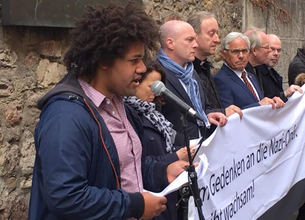 Scharfe Kritik am CSU-Entwurf für ein Integrationsgesetz: Thomas Dwumoh von den Falken.
