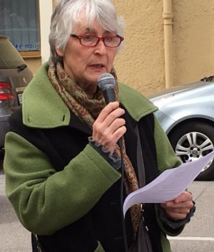 Kritisiert den Umgang mit Sinti und Roma: Elisabeth Reinwald.