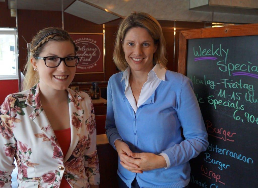 MdB Astrid Freudenstein mit PPP-Stipendiatin Julia Aschenbrenner (1)