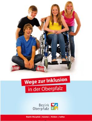 Preise, wohlklingende Worte und bunte Broschüren gibt es vom Betzirk Oberpfalz zum Thema Inklusion. Das konkrete Verwaltungshandeln ist weniger bunt und fröhlich. Foto: Bezirk