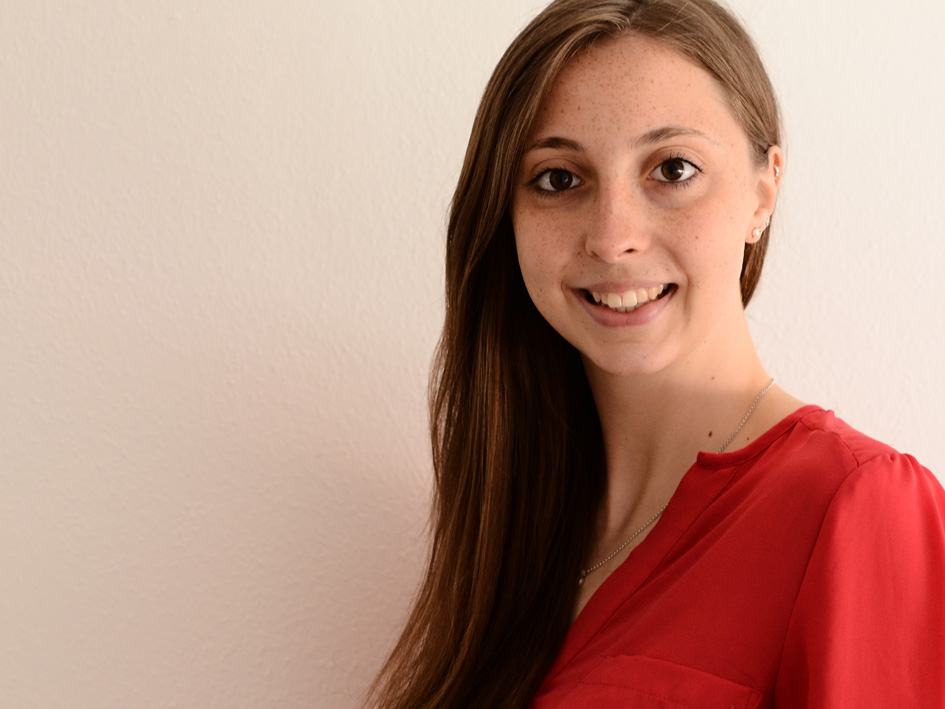 Sarah Kemether wurde in den 18. Jahrgang der Bayerischen EliteAkademie aufgenommen. Sie studiert im 6. Semester International Relations and Management an der Fakultät Allgemeinwissenschaften und Mikrosystemtechnik der OTH Regensburg. Foto: Sarah Kemether
