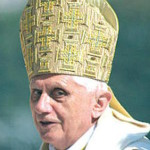 Objekt der Geltungssucht eines halbseidenen Unternehmers und einer heuchlerischen CSU-Führung: Papst Benedikt. Foto: Archiv/ Staudinger