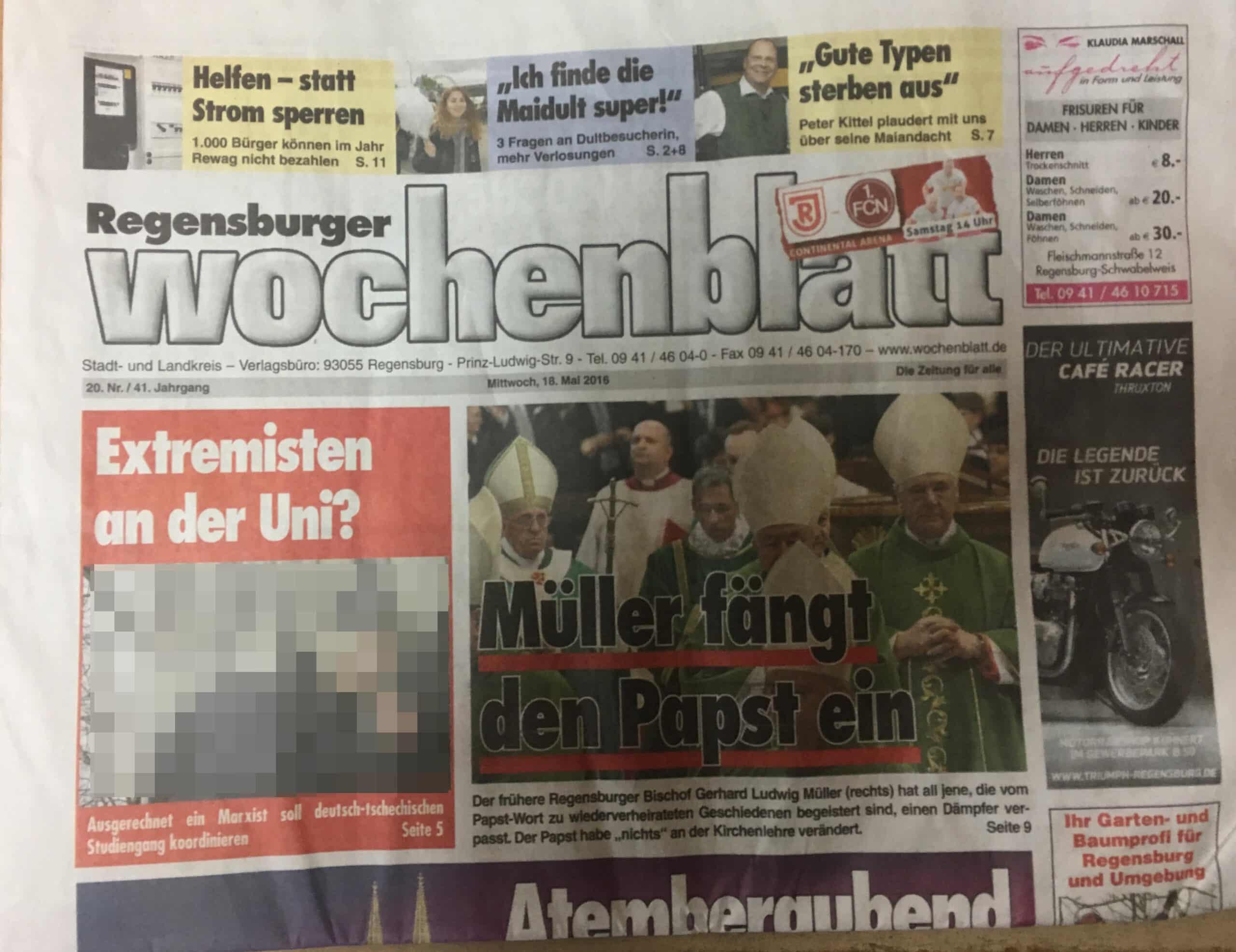 Wochenblatt De Regensburg