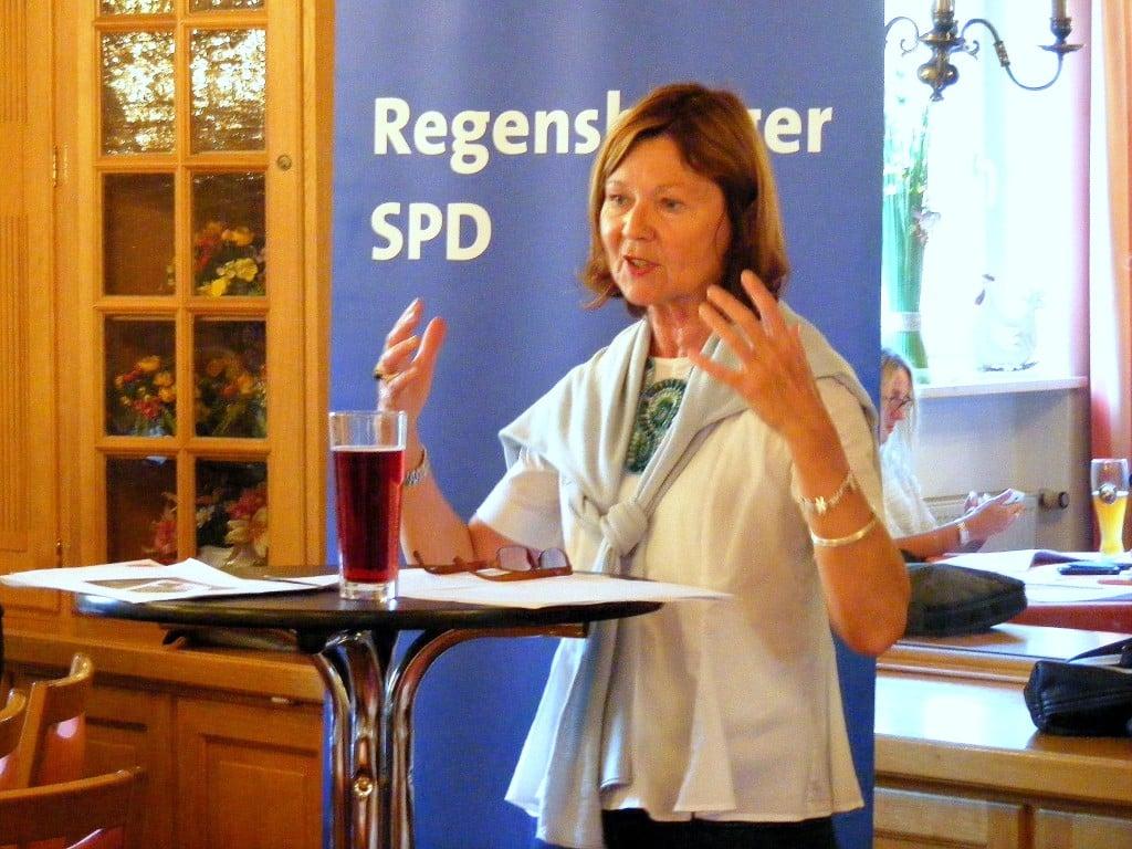 """""""Das ist nicht in Ordnung."""" SPD-Chefin Margit Wild. Foto: Archiv/ om"""
