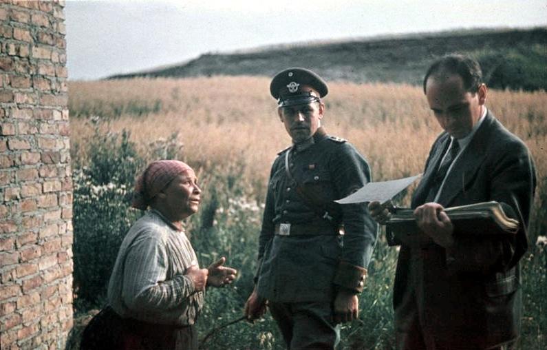 Robert Ritter (rechts) 1936.