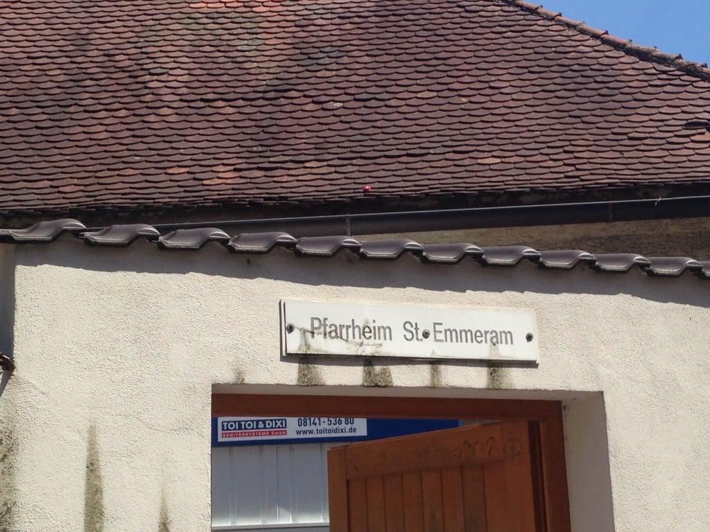 Das Pfarrheim St. Emmeram ist wieder leer. Foto: om