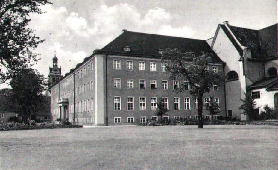 Das Knabenseminar Obermünster um 1930. Foto: privat