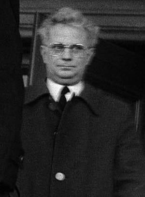 Prälat Paul Mai. Betroffene im Knabenseminar Obermünster beschreiben ihn als sadistischen Schläger. Foto von 1985: Horst Hanske/ Bilddokumentation der Stadt Regensburg