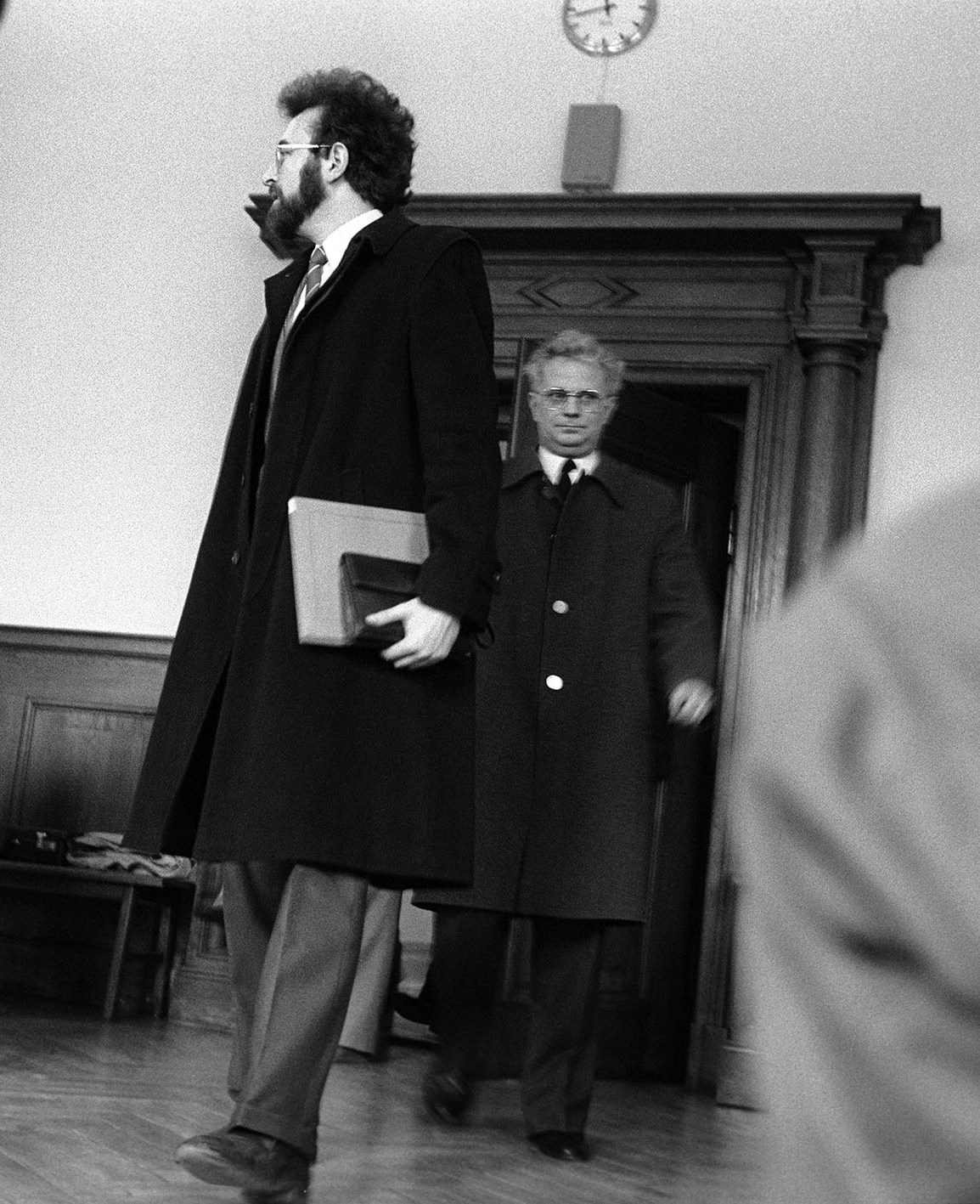 Paul Mai 1985 als Zeuge vor Gericht. Foto: Horst Hanske/  Bilddokumentation Stadt Regensburg