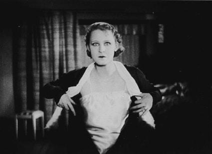 """Brigitte Helm in G. W. Pabsts """"Abwege"""". Bild: Pressemitteilung Regensburger Stummfilmwoche."""