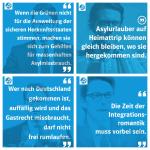 Andreas Scheuer: Der Sprüchelieferant für den nächsten Pegida-Kalender. Fotos: Facebook / Montage: om.
