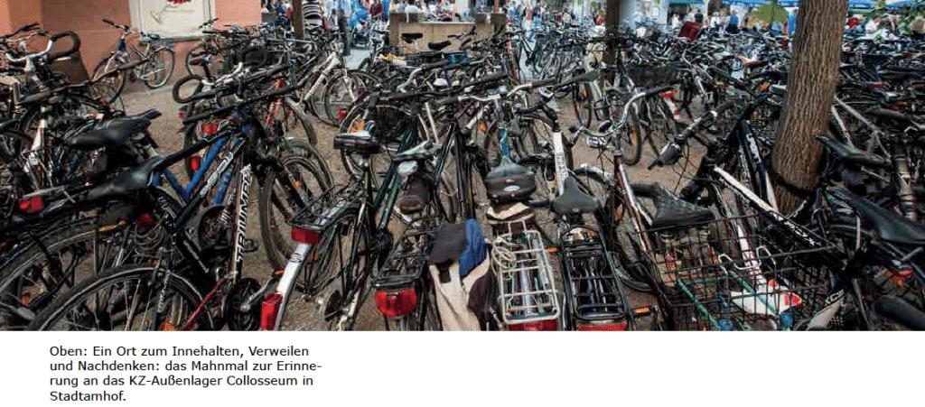 Was können denn die Fahrradfahrer von heute für damals? Foto: Screenshot.