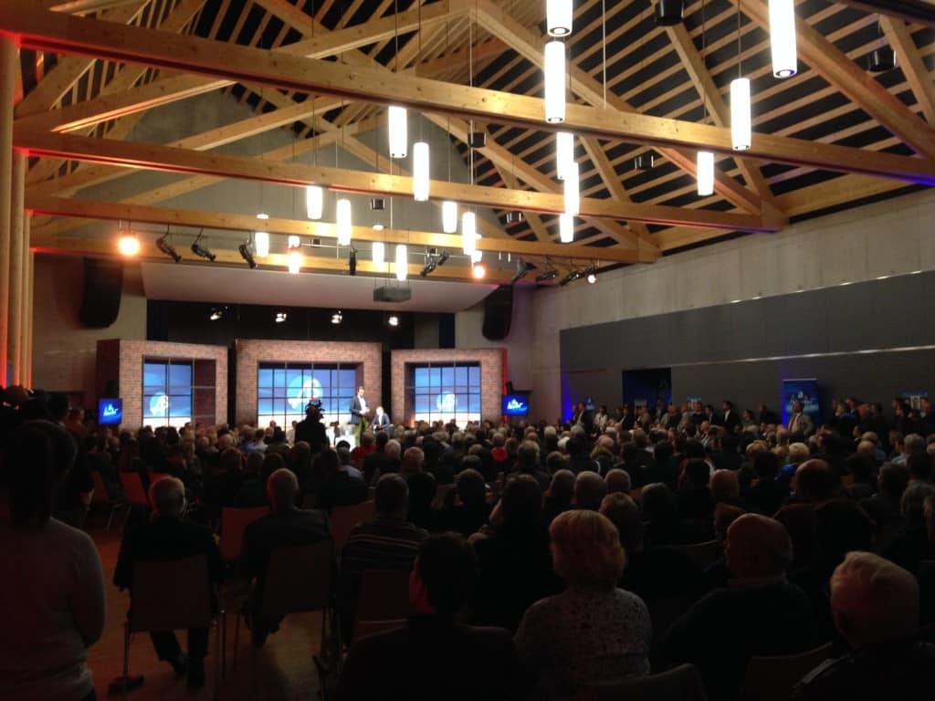 Das Aurelium in Lappersdorf war voll. Foto: om