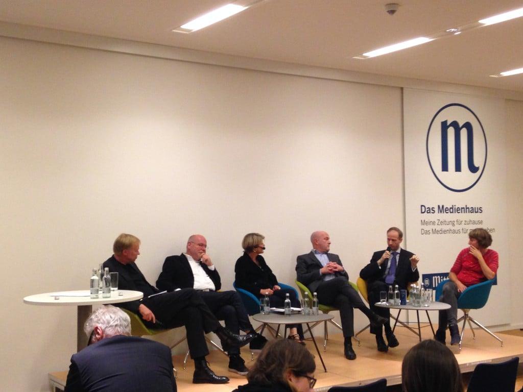 Podiumsdiskussion zum Thema Theaterfinanzierung. Foto: om