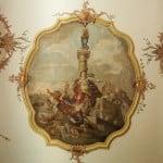 """Das frisch restaurierte Fresko der Kassianskirche zeigt die Vertreibung von ritualmordenden Juden als """"Befreiung"""". Foto: rw"""