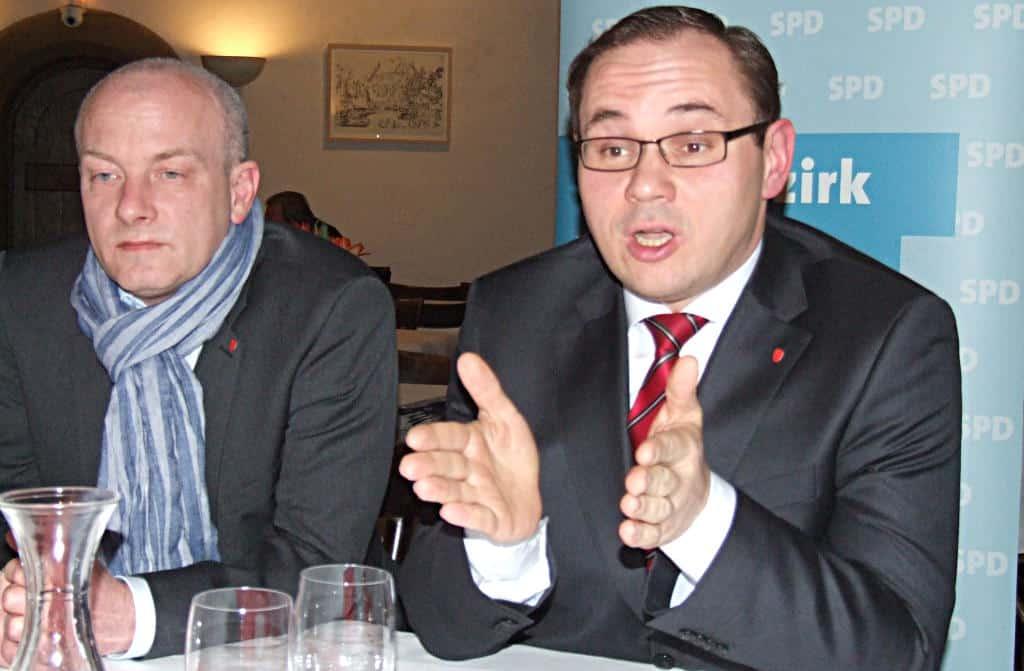 Herbe Niederlage für den Unterbezirksvorsitzenden Joachim Wolbergs und seinen Kandidaten Tobias Hammerl. Foto: Archiv/ as