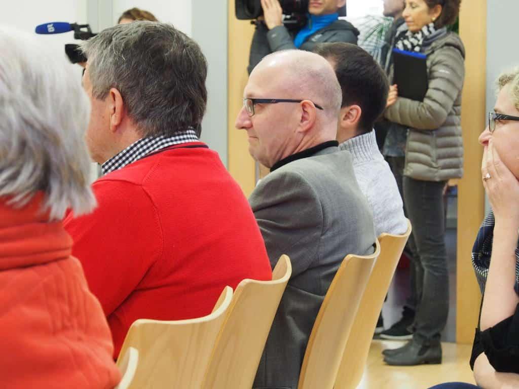 Aufmerksamer Prozessbeobachter: Domchor-Manager Christof Hartmann. Foto: wr