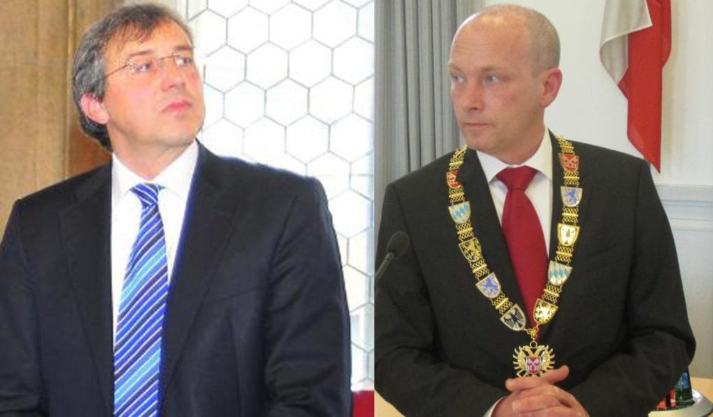 CSU-Chef Rieger keilt gegen Joachim Wolbergs und die Tajsichs. Fotos: Archiv