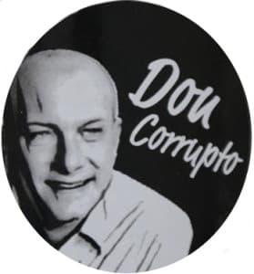 """Gegenstand von Ermittlungen: der """"Don Corrupto""""-Aufkleber."""