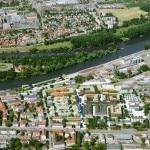 marina quartier, regensburg entwicklungsgebiet schlachthofareal perspektive von nordwesten basis: bebauungsplanentwurf (stand: 2011) aktualisierung: mrz-12