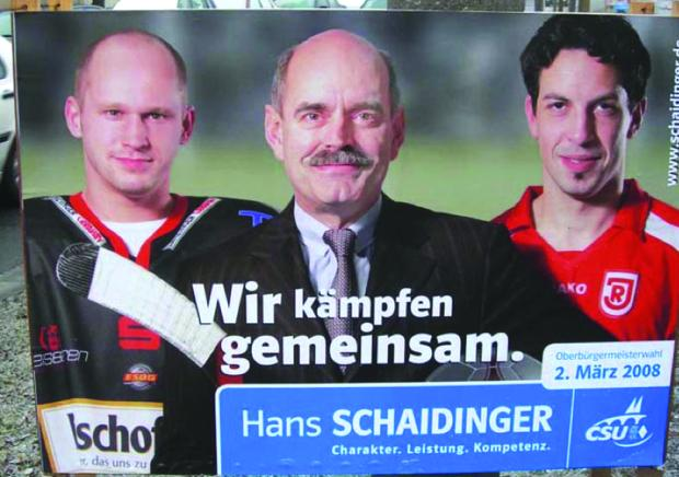 Sport als Wahlkampfmittel: Hans Schaidinger hat es vorgemacht - mit fragwürdigen Methoden.