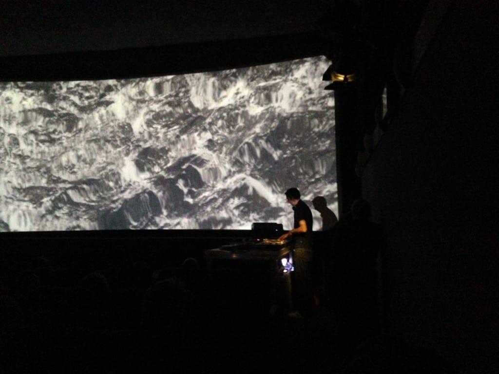 Plattenfilme am vorletzten Festivaltag. Hier: Focus on Infinity, vertont von DJ Film. Foto: om