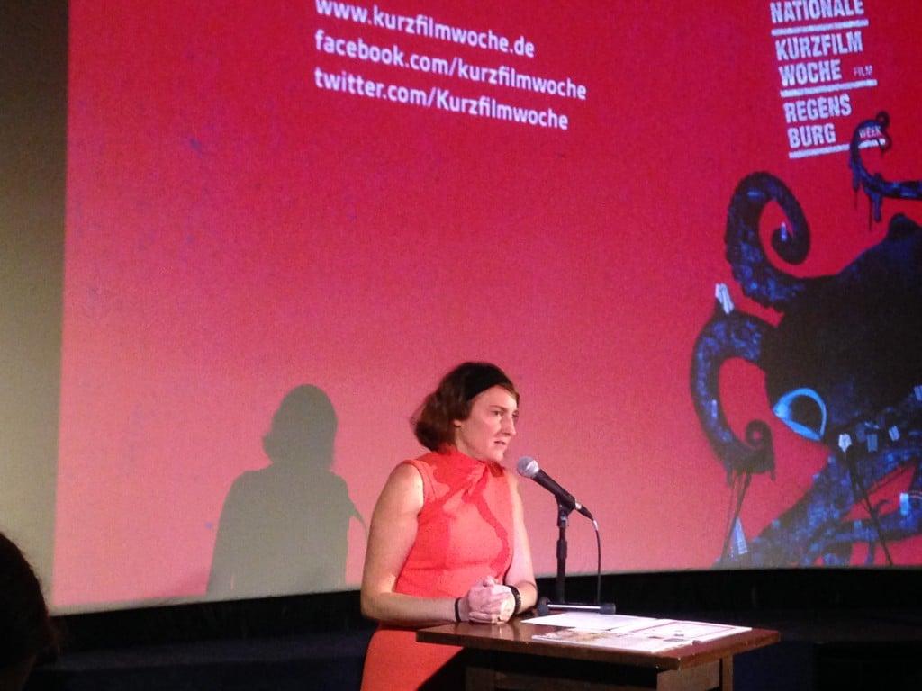 Leiterin der Kurzfilmwoche: Insa Wiese. Foto: om