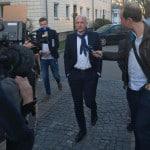 """""""Nein."""" Wolbergs wollte am Montag keine Fragen von Medienvertretern beantworten. Foto: as"""