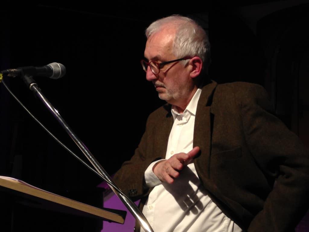 Guido Pollak beim bildungs- und sozialpolitischen Aschermittwoch. Foto: om