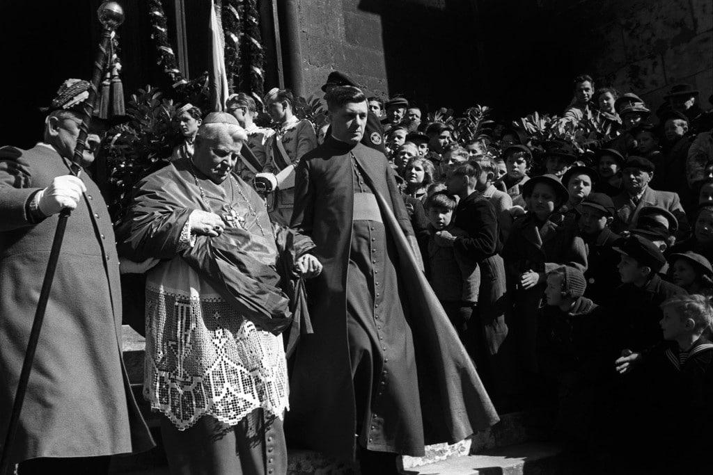 Michael Buchberger bei der Feier seines 35jährigen Bischofsjubiläums 1953. Foto: Stadt Regensburg