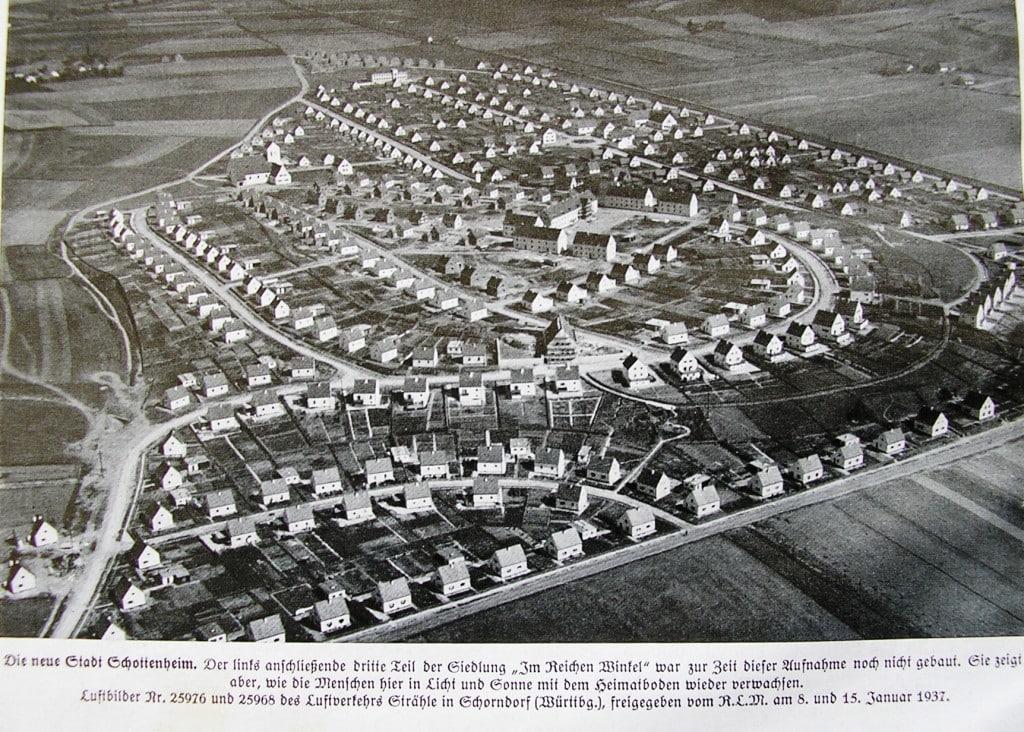 Vorzeigeprojekt des NS-Regimes: die Schottenheim-Siedlung 1936. Foto: privat