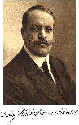 Regelmäßiger Autor im Sonntagsblatt: der Antisemit Franz Schrönghammer. Foto: Wikipedia
