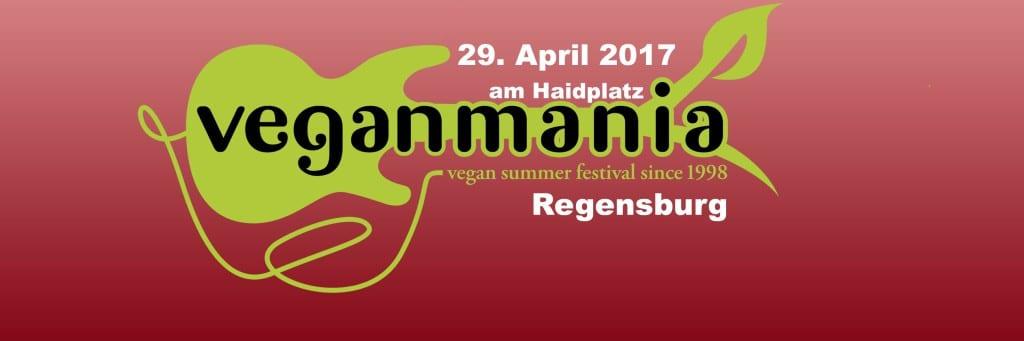 Ein harmloses und freudiges Straßenfest? Veganmania 2017 in Regensburg. Foto: Facebook - Veganmania Regensburg