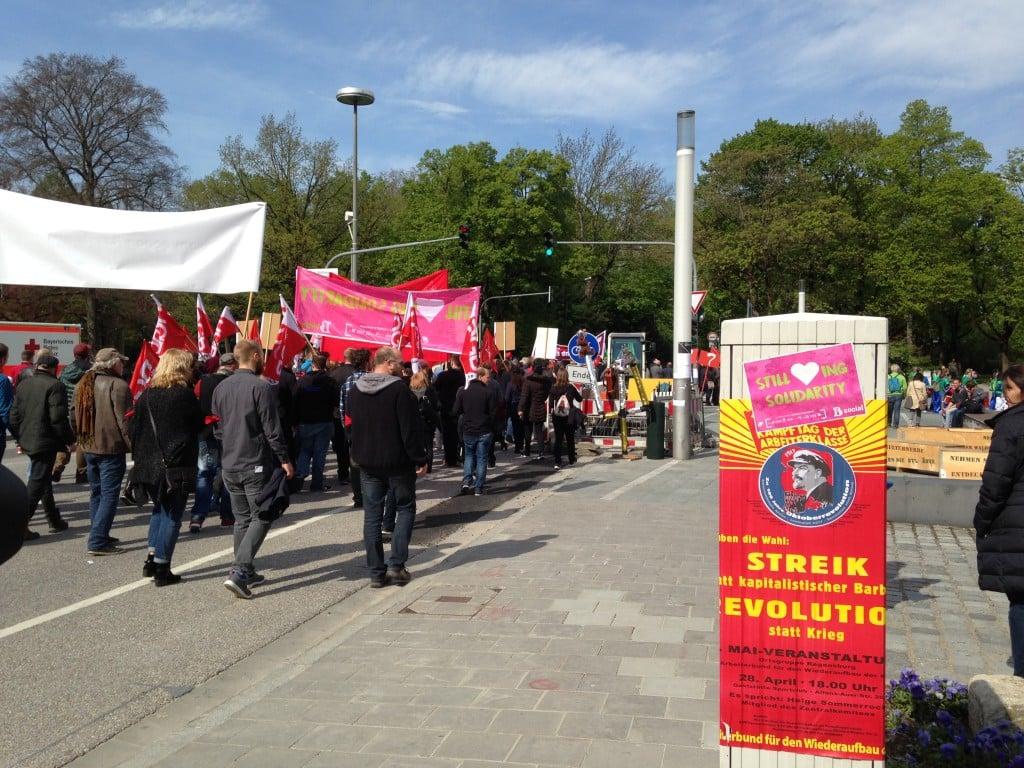 DGB-Jugend-Aktion: Still <3-ing Solidarity. Foto: om