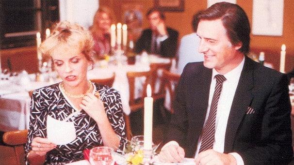 """Beispiel eines """"ausgedehnten Spielfilms"""": Helmut Dietls Monaco Franze. Szenenbild: BR."""