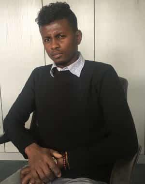 Wartet seit Monaten auf einen schriftlichen Bescheid der Ausländerbehörde: Youssouf A.. Foto: as