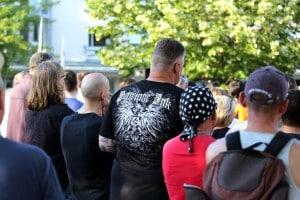 Ein Shirt der Neonazi-Marke Ansgar Aryan. Foto: Jan Nowak