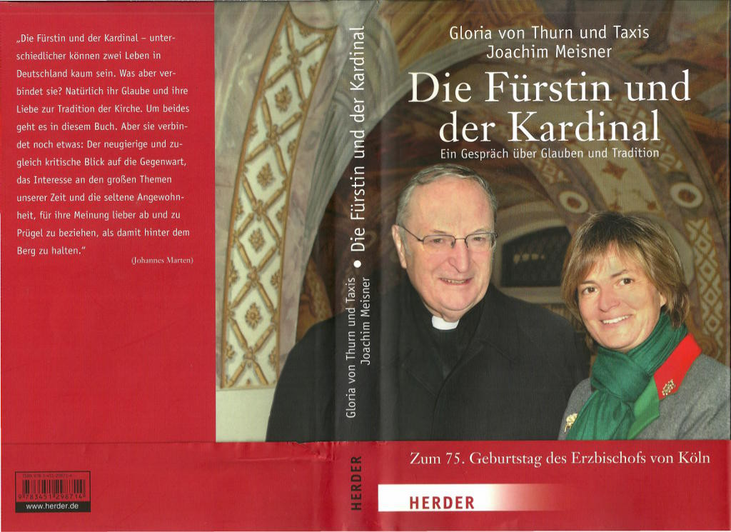 Die Fürstin und der Kardinal Cover