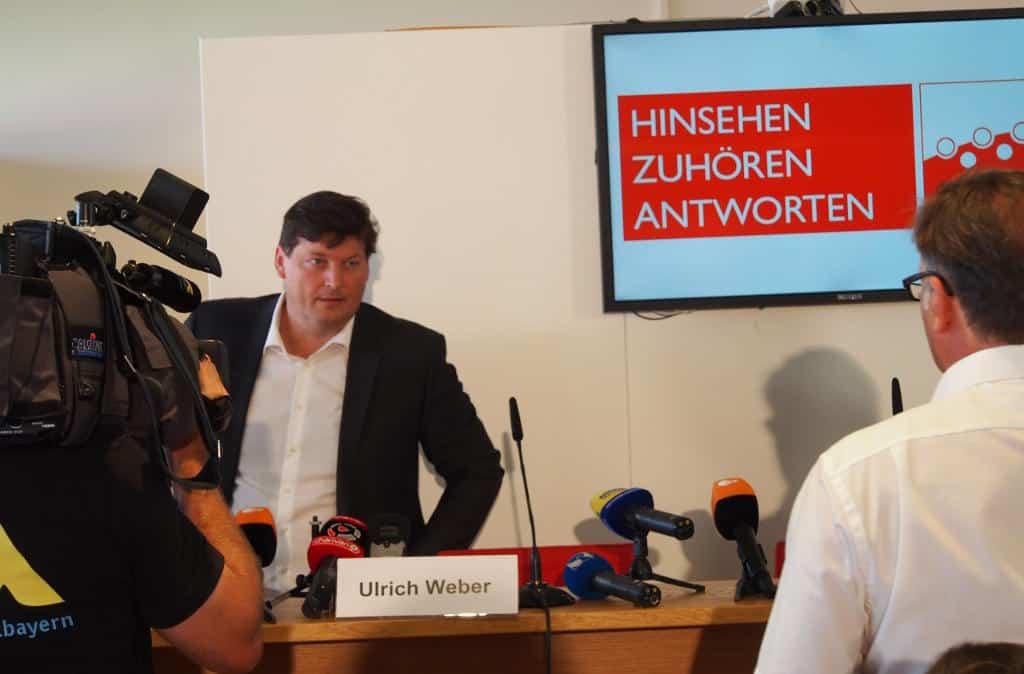 Ulrich Weber stellte am Dienstag das Ergebnis seiner zweijährigen Arbeit vor. Foto: Werner