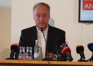 """Generalvikar Michael Fuchs: """"Nach bestem Wissen und Gewissen gehandelt."""" Foto: Werner"""