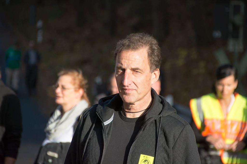 Heinz Meyer, Wortführer von Pegida München. Foto: Witzgall