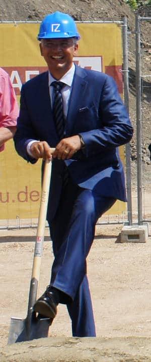 """Thomas Dietlmeier: Beim Projekt """"fair wohnen"""" kann der Vorstand des Immobilien Zentrums auf Unterstützung der Stadt Regensburg bauen. Foto: pm"""