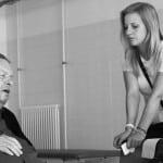 Gemeinsam am Set: Ottfried Fischer und David Lese (re.). Foto: tomoko.film/ Instagram