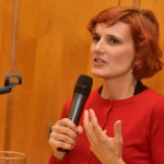 """Katja Kipping: """"Wir müssen an das Geld der Superreichen ran."""" Foto: Staudinger"""